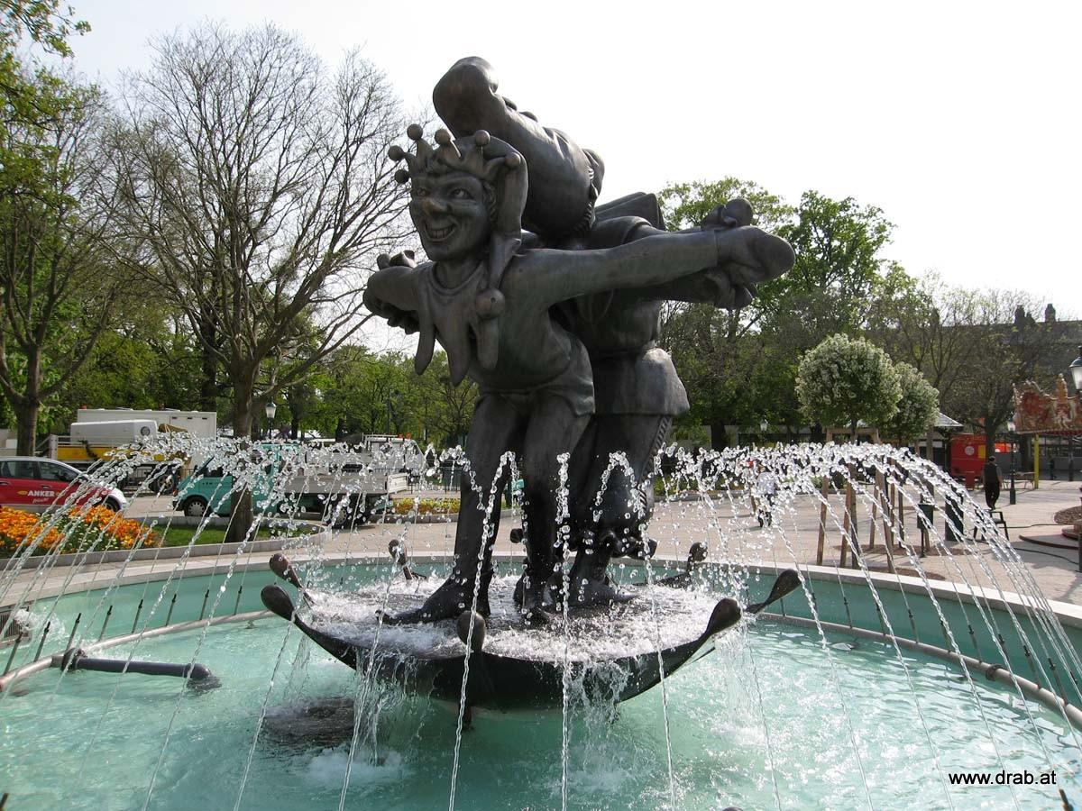 Wurstelbrunnen im Wiener Prater