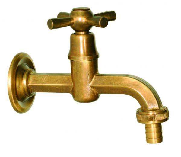 zeitlioser Messing-Wasserhahn IV