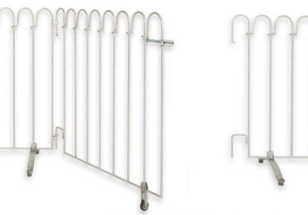 Tür für Poolfix-100 in Eisen feuerverzinkt