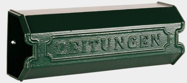 Zeitungsrolle Wien aus Aluminiumguss
